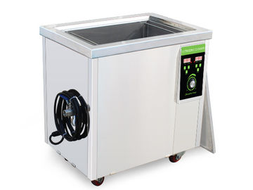 Industrial Plastic Mould Large Ultrasonic Cleaning Tank 40khz With Basket 100 Liter