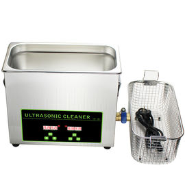 150W Benchtop Ultrasonic Dental Instrument Cleaner 6.5L Small Digital Ultrasonic Cleaner