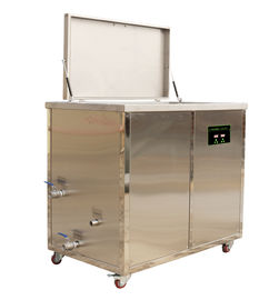 Heavy Duty Stainless Steel Heated Soak Tank With Ultrasonic Transducers