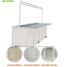 Stainless Steel 304 Ultrasonic Blind Cleaning Machine For Knocks Out Dirt Germs