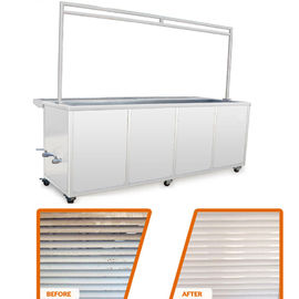 China 10 Ft Ultrasonic Blind Cleaning Equipment Wash And Rinse Heated Ultrasonic Tank supplier