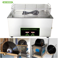 Lp Vinyl Record Digital Ultrasonic Cleaning Machine Stainless Steel Benchtop 6.5 Litre 40khz