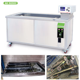 Tube Filter 40khz Industrial Ultrasonic Cleaner Oil Rust Removing / Degreasing