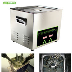 10L Industrial Ultrasonic Cleaner Component Metal Part Repair / Cleaning Sonic Tank